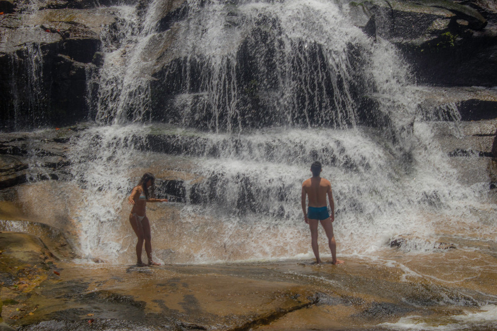 Escada Waterfall