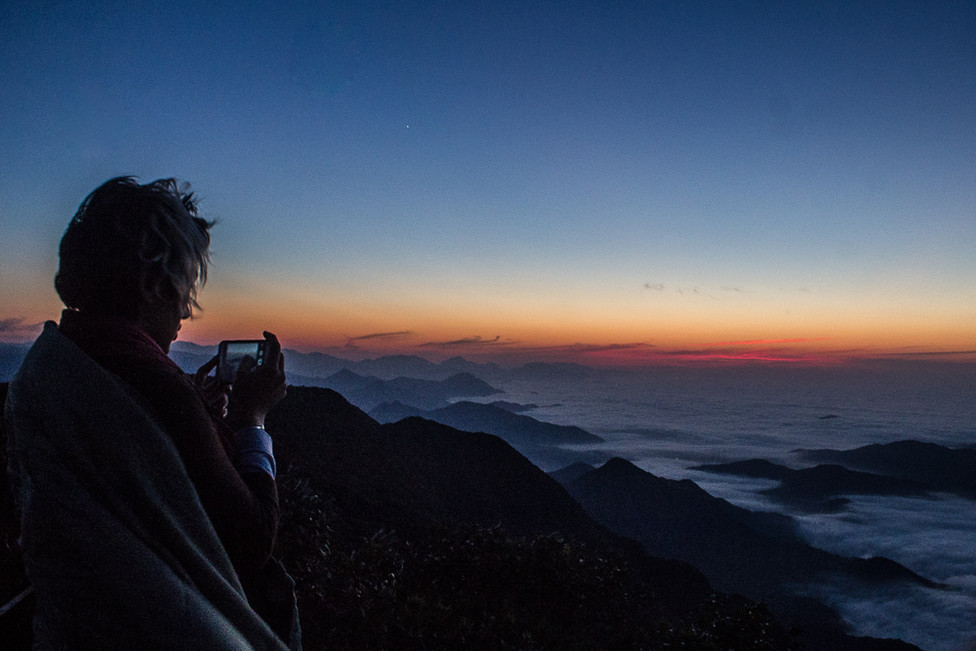 Picture of the pitcure - Corcovado mountain