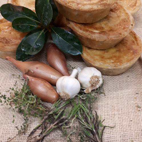 Chicken & Woodland Mushroom Pie