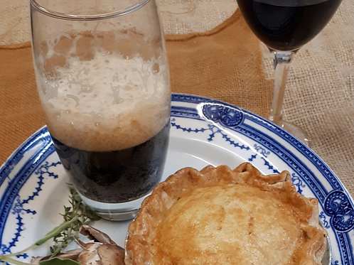 Beef & Kidney with Black Pudding Pie