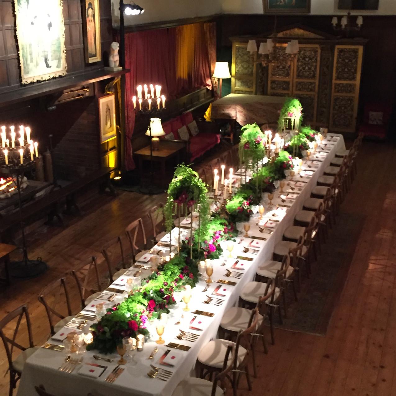 ramster hall - table setting