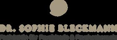 Logo Dr. med. Sophie Bleckmann Charlottenburg