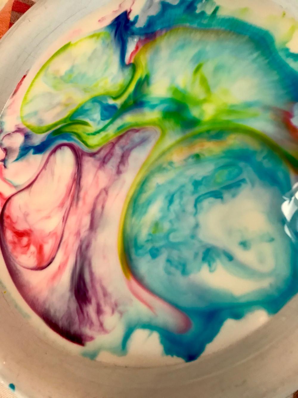 Milk art