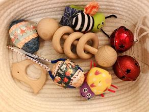 Baby music basket