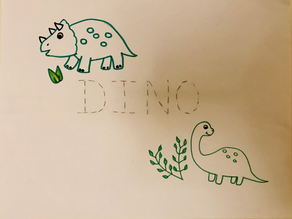 Pre-writing Dino 🦖activities