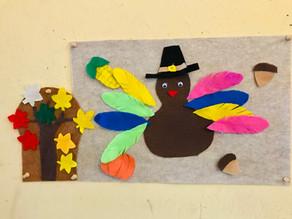 Thanksgiving felt board