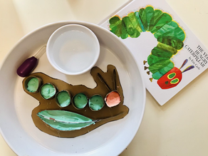 The very hungry caterpillar 🐛