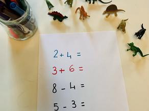 Dino math and patterns
