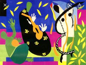 Paint with scissors like Henri Matisse