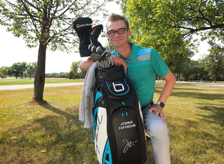 Young golfer tees up CEO position