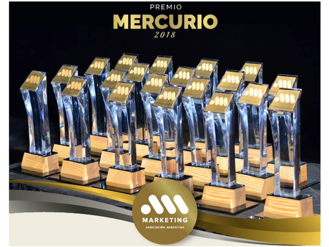 Nombre presente en los Premios Mercurio 2018