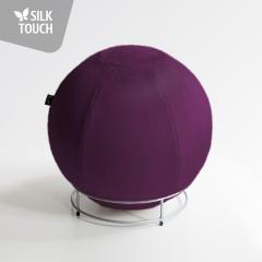 Silk-touch fialová