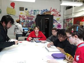 Mentoring Budding Artists