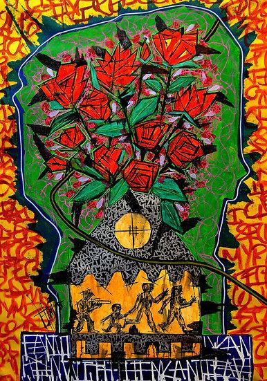 Vase of Cut Flowers - 2018