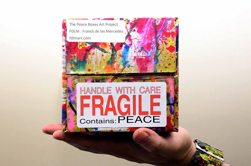 Peace Box Signed Print by FdlM
