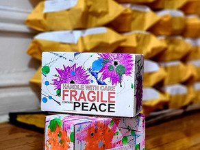 October Newsletter: I have some Peace Boxes left... and yes, they are free + Flowers and Spirals
