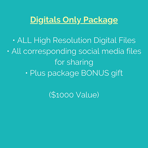 Digitals Only Package (Note: Pre-purchase not required.)