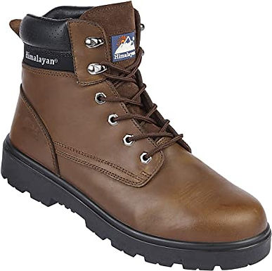 """EX1121 Brown CH Leather S3 DD 6"""" Boot"""