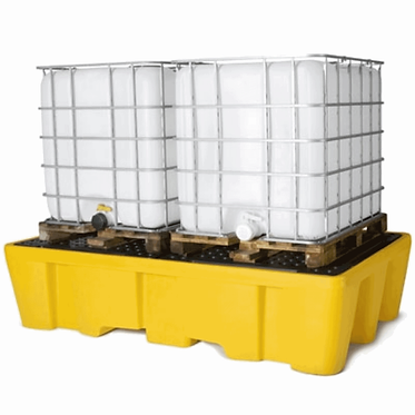 IBC Polyethylene Pallets with grating