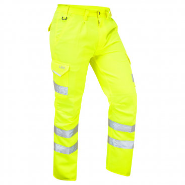 LEO BIDEFORD Poly Cotton Cargo Trouser