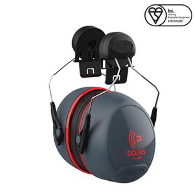 Sonis® 3 Helmet Mounted Ear Defenders EXAEB0400C1A00