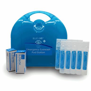 Emergency Eye Wash Pod Kit & Bracket 20ml pods EX110283