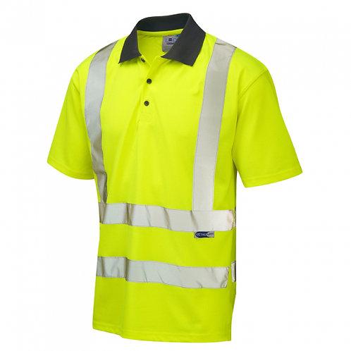 LEO ROCKHAM Coolviz Polo Shirt (EcoViz)