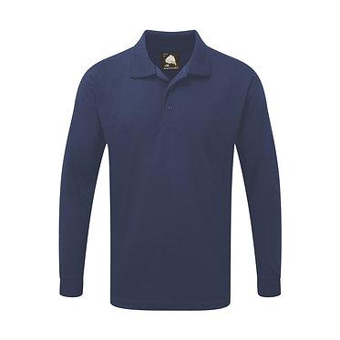 Weaver Long Sleeve Premium Polo Shirt EX1170
