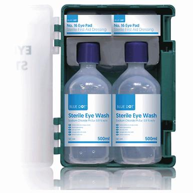 Standard Eye Wash Station 500ml Bottles EX51016