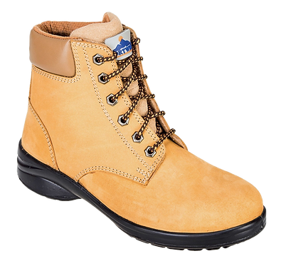 Steelite Louisa Ladies Ankle Boot S3 Wheat EXFT41