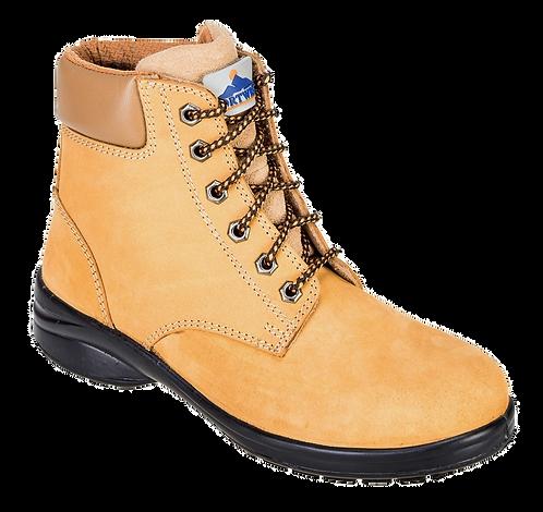 Steelite Louisa Ladies Ankle Boot S3 Wheat