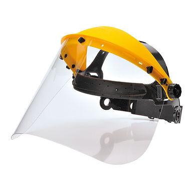 Portwest PW91 - Browguard with Clear Visor