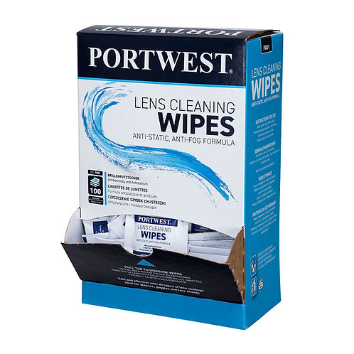 Lens Cleaning Wipes (100 Wipes) EXPA01