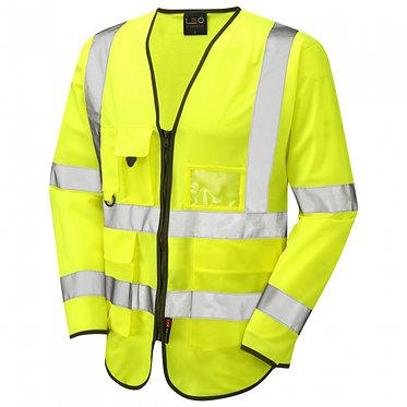 Wrafton ISO 20471 Class 3 Sleeved Superior Waistcoat EXS12