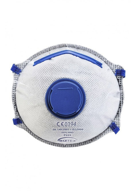 P223 - FFP2 Carbon Valved Dolomite Respirator