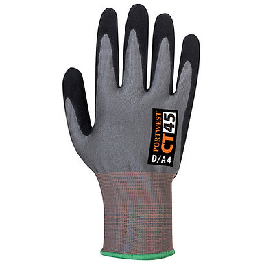 CT HR Nitrile Foam Cut D Glove EXCT45
