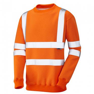 Winkleigh ISO 20471 Class 3 Crew Neck Sweatshirt EXSS05