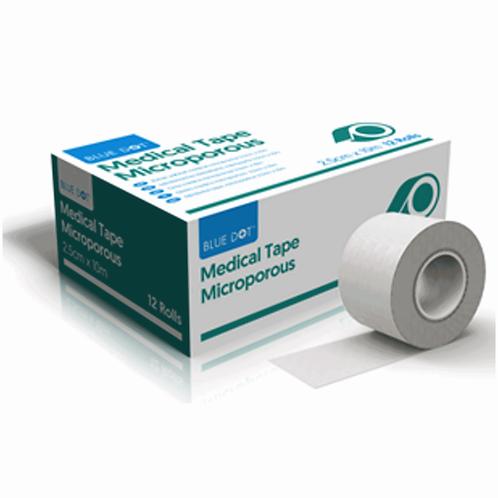 Microporous Tape Boxed 2.5cm x 5m EX30BMT025