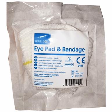 Eye Pad & Bandage Looped Flow Wrapped EX145