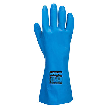 Food Approved Nitrile Gauntlets EXA814