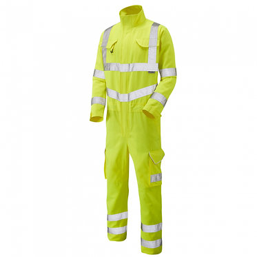 Molland ISO 20471 Class 3 Poly/Cotton Coverall EXCV01
