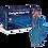 Thumbnail: Aurelia Delight Blue Lightly Powdered Vinyl Gloves EX3889 (Box of 100)