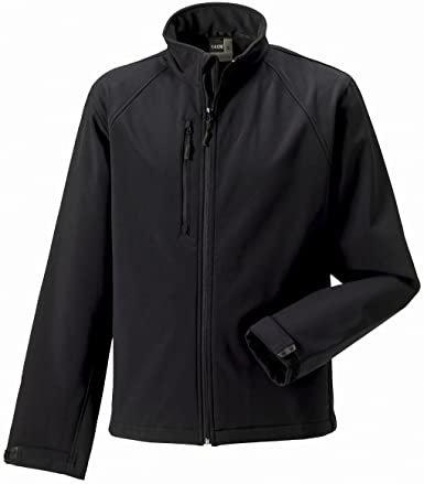 Russell Men's Soft Shell Jacket Black L