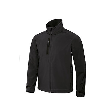 B&C Mens X-Lite Softshell Black L