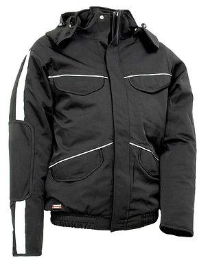 Cofra Strasbourg Winter Padded Jacket Black EXSTRASBOURG