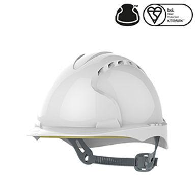 JSP EVO®2 Safety Helmet with Slip Ratchet Vented EXAJF030