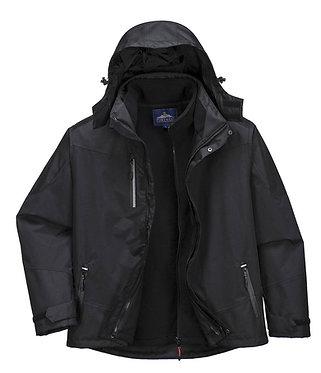 Portwest S553 Radial 3in1 Jacket Black XXL