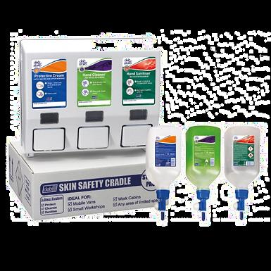 Skin Safety Van Cradle Starter Pack and Refills