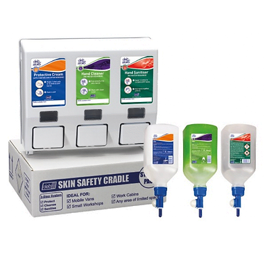 Skin Safety Van Cradle Starter Pack and Refills