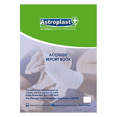 Accident Report Book A4 EX5401012